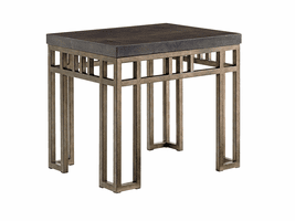 Cypress Point TH-561-953 Montera Travertine End Table
