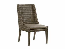 Cypress Point TH-562-882-01 Brandon Woven Side Chair - Ships Assembled