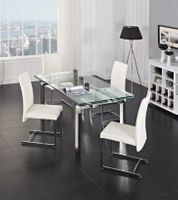STARK Extendable Dining Table | Creative Furniture + 4 CHAIRS