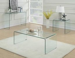 COASTER TEMPERED GLASS COFFEE TABLE 705328