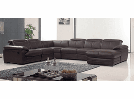 ESF 2146 Sectional with 1 Manual Recliner SET