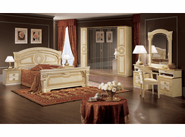 ESF Aida Ivory Bed Collection