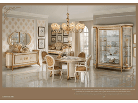 ESF Melodia Dressers with Mirrors Set