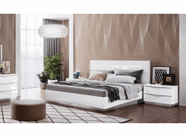 ESF Onda Bed with LED Lights Collection