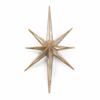 """Go Home Antique Gold """"Twinkle"""" Star"""