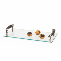Go Home Bark Handle Serving Tray