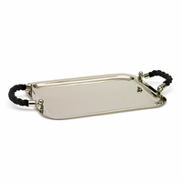 Go Home Black Rope Tray