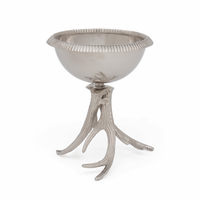 Go Home Bowl On Antler Stand