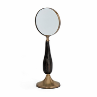 Go Home Brass Stand Up Magnifying Glass
