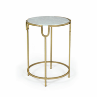 Go Home Darling Iron Marble Top Table