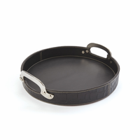 Go Home Drexel Leather Tray
