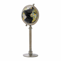 Go Home Globe On Straight Stand
