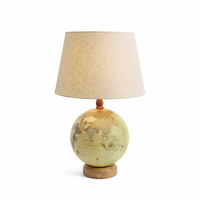 Go Home Globe Table Lamp