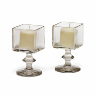 Go Home Grand Square Candle Holders