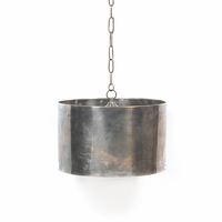 Go Home Industrial Steel Drum Pendant Fixture