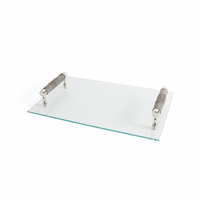 Go Home Landry Glass Serving Tray