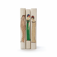 Go Home Linear Foot of Art Deco Woman Books