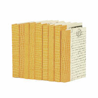 Go Home Linear Foot of Croc Faux Natural Books