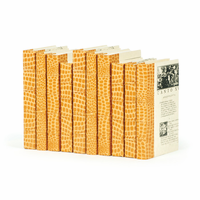 Go Home Linear Foot of Croc Faux Saddle Books