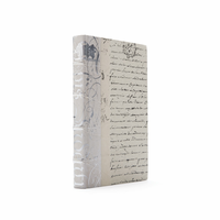 Go Home Linear Foot of Ivory Bold Silver Leaf Books
