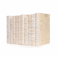 Go Home Linear Foot of Ivory Script Books