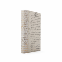 Go Home Linear Foot of Ivory Script Gold Leaf Books