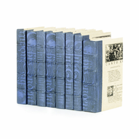 Go Home Linear Foot of Mod Periwinkle Washed Books