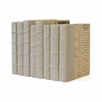 Go Home Linear Foot of Recycled Canvas Books