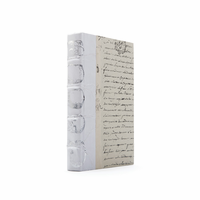 Go Home Linear Foot of White Skull Silver Leaf Books