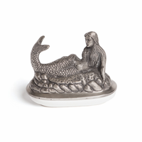 Go Home Mermaid Butter Dish