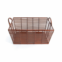 Go Home Mitchell Leather Basket