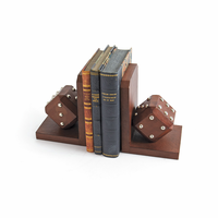 Go Home Pair of Craps Bookends