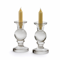 Go Home Pair Of Spherical Candleholders