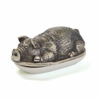 Go Home Pigsley Butter Dish