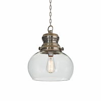 Go Home Rotundo Glass Hanging Light
