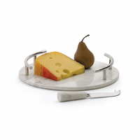 Go Home Round Cheeseboard With Knife
