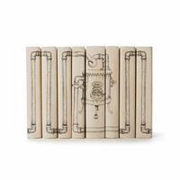 Go Home Set of Eight Steampunk With Pipes Books