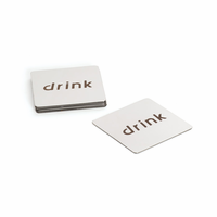 """Go Home Set Of Six """"Drink"""" Coasters"""