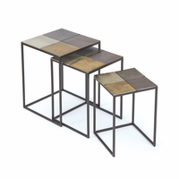 Go Home Set of Three Costello Nesting Tables