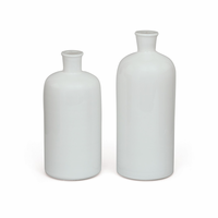 Go Home Set of Two Bianco Vases