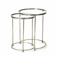 Go Home Set of Two Circle Nesting Tables
