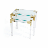Go Home Set of Two Johanson Acrylic Tables