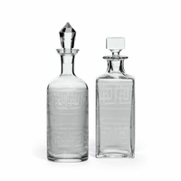 Go Home Set Of Two Moriches Decanters