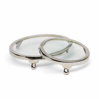 Go Home Set of Two Round Cake Stands