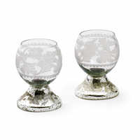 Go Home Set of Two Small Crystal Ball