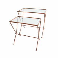 Go Home Set of Two Trevoli Nesting Tables