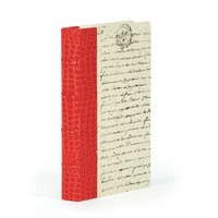 Go Home Single Croc Faux Red Book