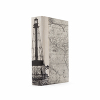 Go Home Single Ivory Alligator Lighthouse Book
