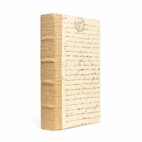 Go Home Single Solid Recycled Bark Book