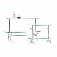 Go Home Small Two Tier Adjustable Pastry Stand